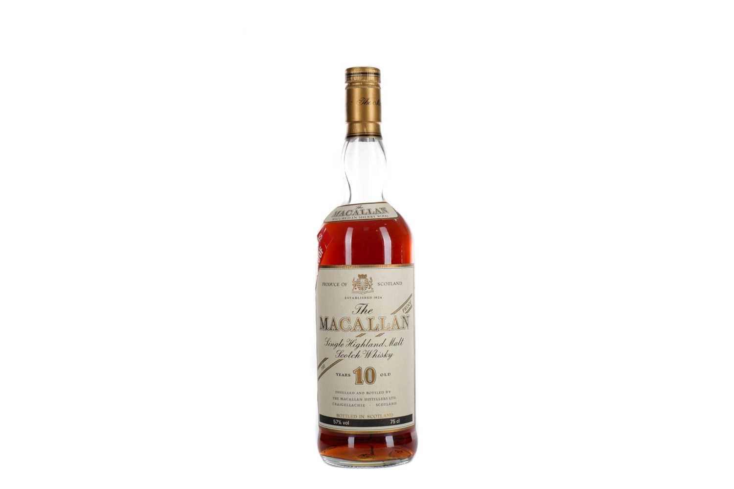 Lot 144 - MACALLAN 10 YEARS OLD 100 PROOF