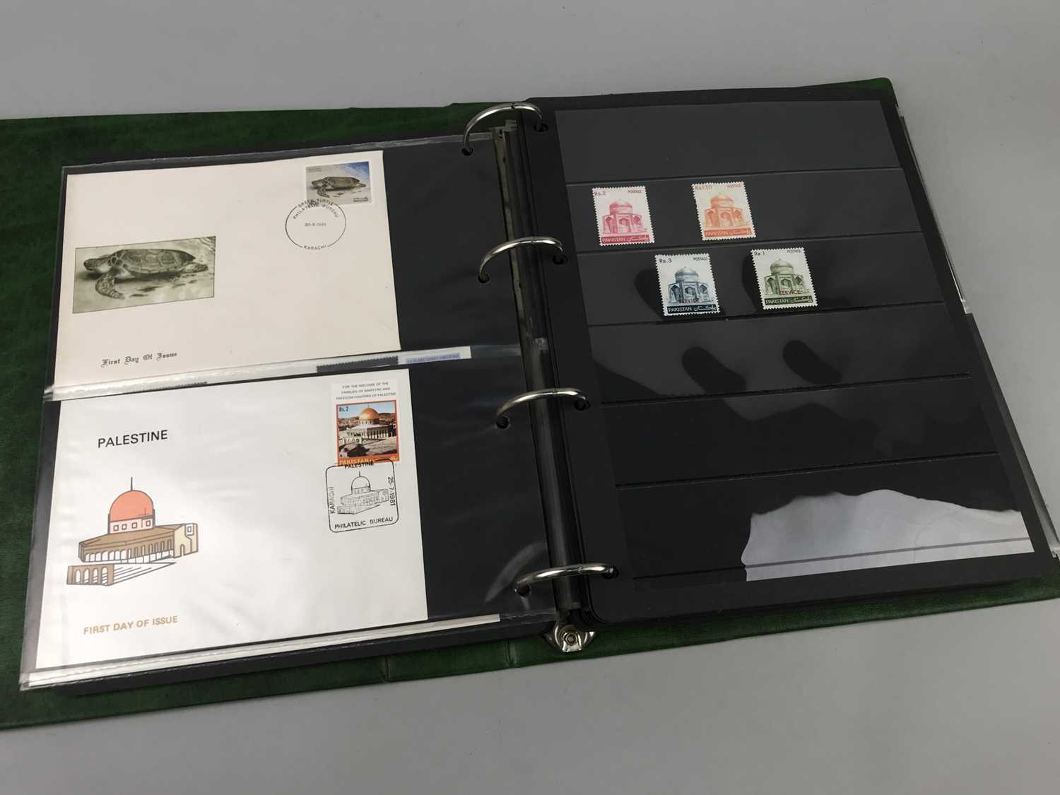 Lot 84 - LOT OF PAKISTAN, INDIAN AND OTHER STAMPS