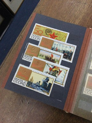Lot 90 - AN ALBUM OF SOVIET STAMPS