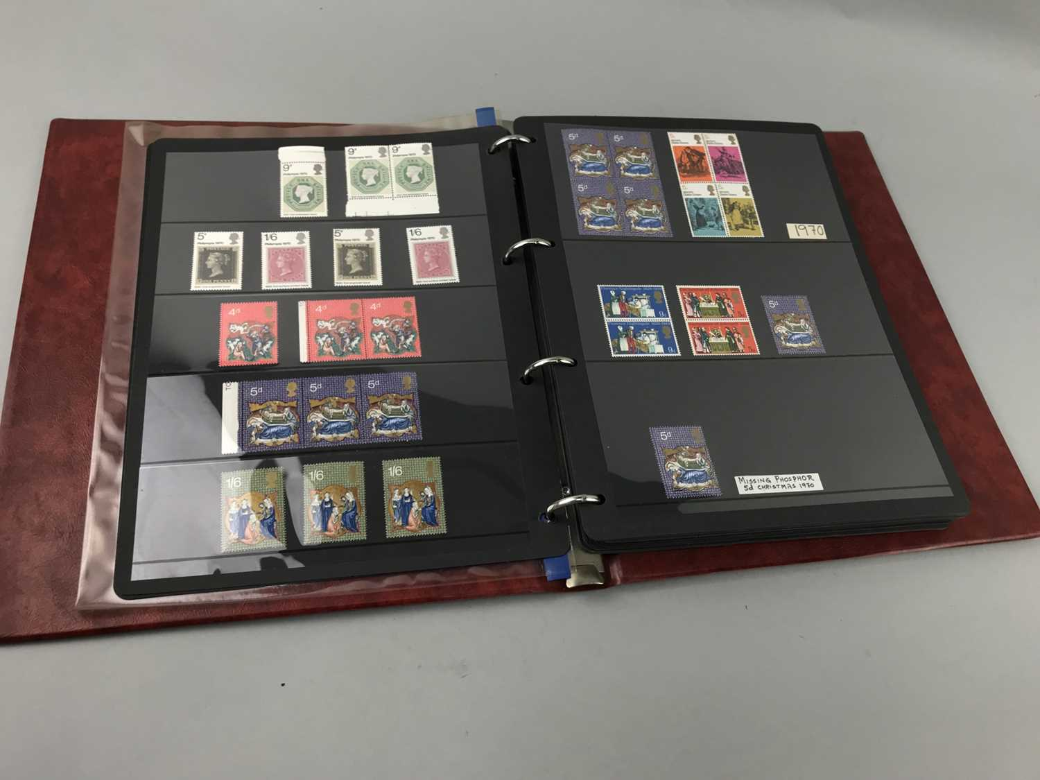 Lot 92 - AN ALBUM OF 1960's GB STAMPS