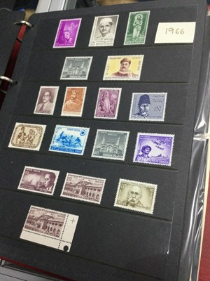 Lot 94 - AN ALBUM OF MID 20TH CENTURY INDIAN STAMPS