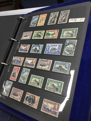 Lot 95 - AN ALBUM OF CEYLON AND SRI LANKAN STAMPS