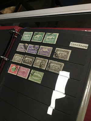 Lot 98 - FOUR ALBUMS OF GB STAMPS