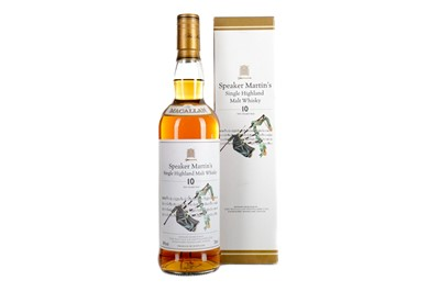 Lot 153 - MACALLAN 'SPEAKER'S MARTIN'S' 10 YEARS OLD