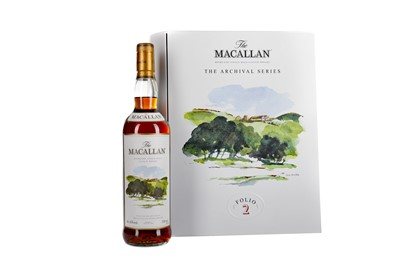 Lot 155 - MACALLAN THE ARCHIVAL SERIES FOLIO 2