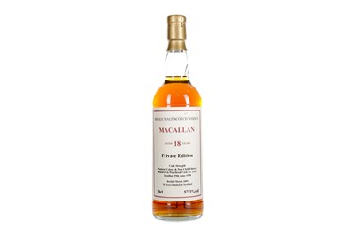 Lot 168 - MACALLAN 1990 ACEO PRIVATE EDITION AGED 18 YEARS