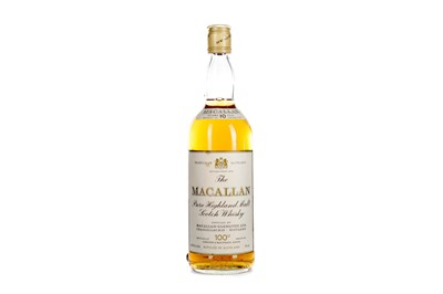 Lot 173 - MACALLAN 10 YEARS OLD 100° PROOF