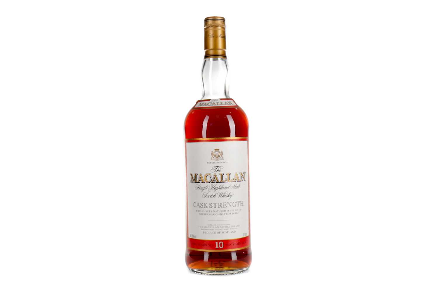 Lot 174 - MACALLAN CASK STRENGTH 10 YEARS OLD - ONE LITRE