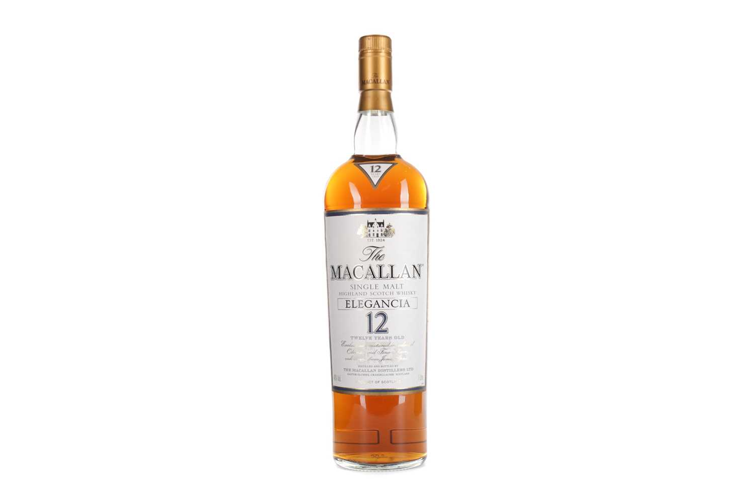 Lot 185 - MACALLAN ELEGANCIA 12 YEARS OLD - ONE LITRE