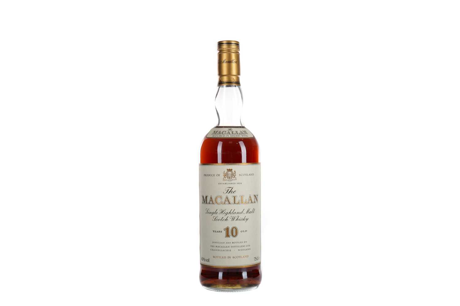 Lot 176 - MACALLAN 10 YEARS OLD