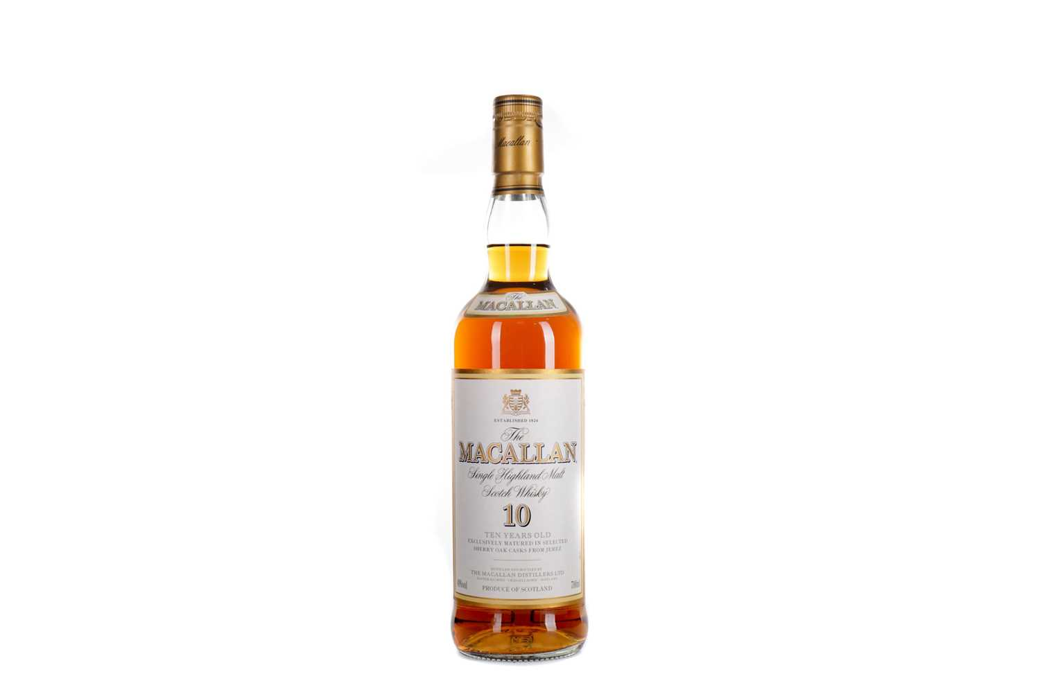 Lot 179 - MACALLAN 10 YEARS OLD