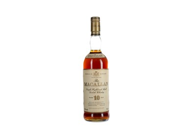 Lot 182 - MACALLAN 10 YEARS OLD