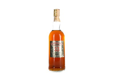 Lot 172 - MACALLAN-GLENLIVET AGED 33 YEARS