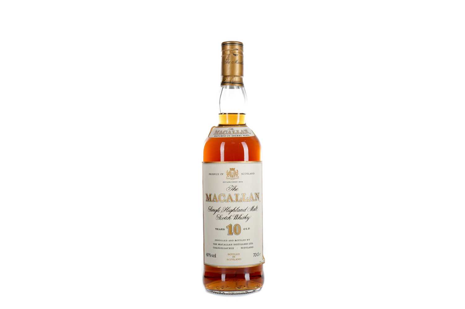 Lot 195 - MACALLAN 10 YEARS OLD