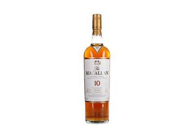 Lot 190 - MACALLAN 10 YEARS OLD