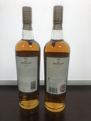 Lot 192 - MACALLAN FINE OAK 15 AND 12 YEARS OLD