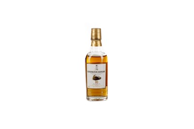 Lot 201 - MACALLAN EDRINGTON EXPRESS 10 YEARS OLD MINIATURE