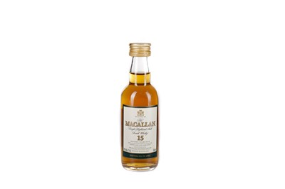 Lot 203 - MACALLAN 1984 15 YEARS OLD MINIATURE
