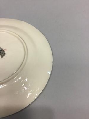 Lot 1092 - A BELLEEK LACE PLATE