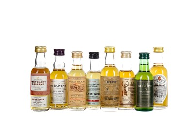 Lot 78 - THIRTY EIGHT SPEYSIDE SINGLE MALT SCOTCH WHISKY MINIATURES
