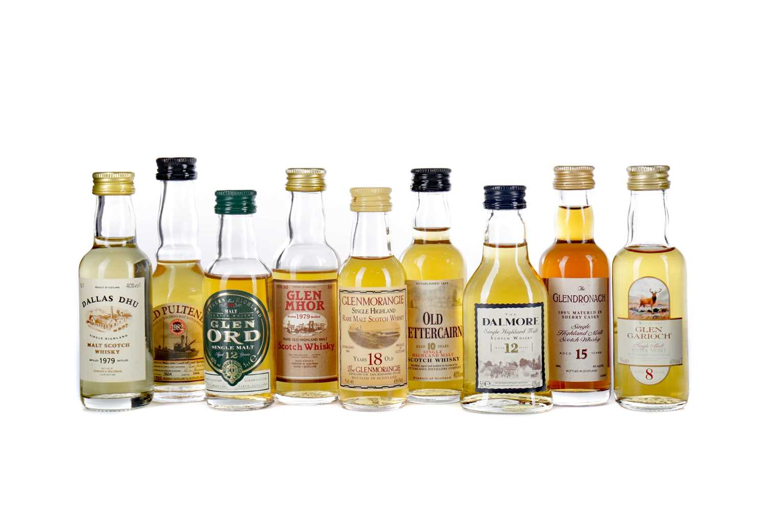 Lot 79 - FORTY ONE HIGHLAND SINGLE MALT SCOTCH WHISKY MINIATURES