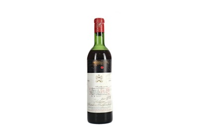 Lot 83 - CHATEAU MOUTON ROTHSCHILD 1961