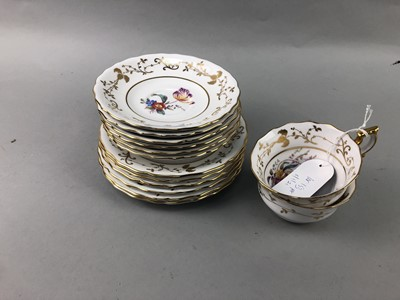 Lot 153 - A GROUP OF ROYAL CROWN DERBY TEA CHINA AND OTHERS