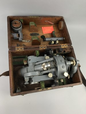 Lot 195 - A COOKE, TROUGHTON & SIMMS THEODOLITE AND A DUMPY LEVEL