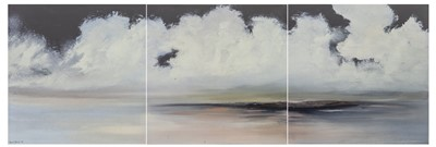 Lot 589 - AN UNTITLED TRIPTYCH BY PHILIP RASKIN