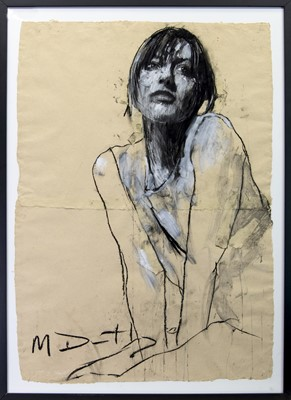 Lot 22A - VICKY V, A PASTEL BY MARK DEMSTEADER