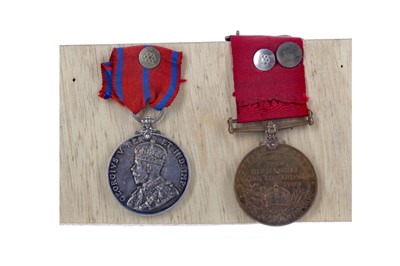 Lot 1302 - A LOT OF TWO EARLY 20TH CENTURY POLICE MEDALS