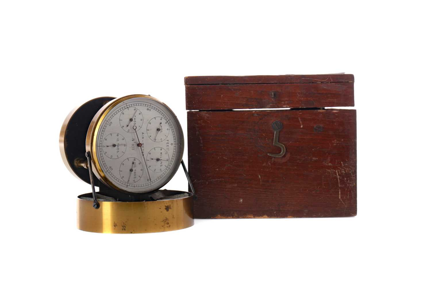 Lot 1711 - AN EARLY 20TH CENTURY AIRMETER
