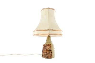 Lot 1004 - A TABLE LAMP BY BERNARD ROOKE