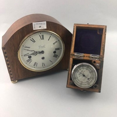 Lot 48 - AN ELLIOT SPEED INDICATOR ALONG WITH A CLOCK