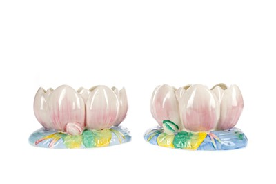 Lot 1015 - A PAIR OF CLARICE CLIFF BOWLS