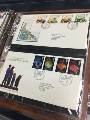 Lot 80 - A LOT OF VARIOUS FIRST DAY COVERS AND OTHER STAMPS