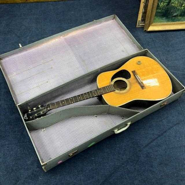 Lot 69 - AN ACOUSTIC GUITAR IN CASE
