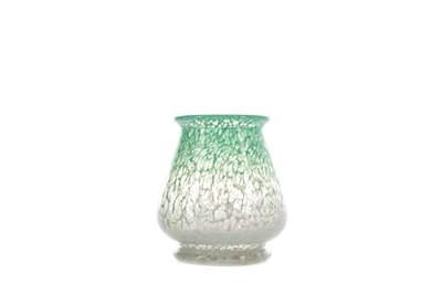 Lot 1022 - A MONART GLASS VASE