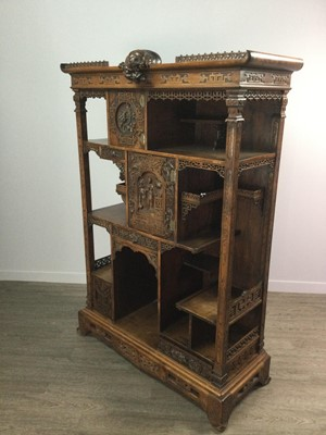 Lot 1645 - A LATE 19TH CENTURY FRENCH JAPONISME CABINET IN THE MANNER OF GABRIEL VIARDOT