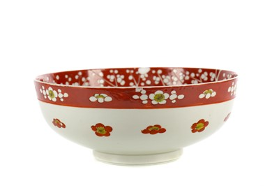 Lot 741 - AN EARLY 20TH CENTURY JAPANESE BOWL
