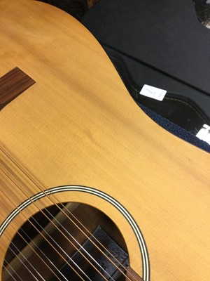 Lot 1720 - A HAGSTROM ACOUSTIC GUITAR