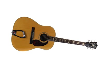 Lot 1721 - A HAGSTROM ACOUSTIC GUITAR