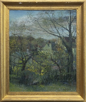 Lot 501 - SUNDAY MORNING, OCTOBER, AN OIL BY WILLIAM BIRNIE