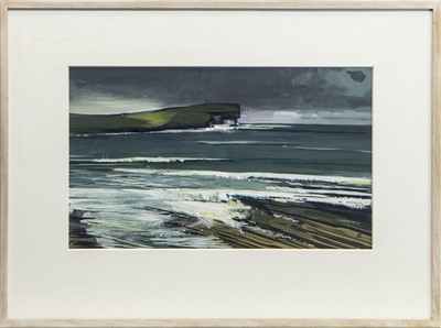 Lot 506 - BAY OF SKAILL, A GOUACHE BY ALEXANDER ROBB