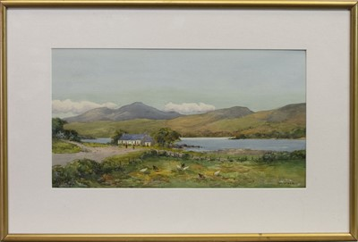 Lot 428 - LOCH FAD, ROTHESAY, A WATERCOLOUR BY W WEIR
