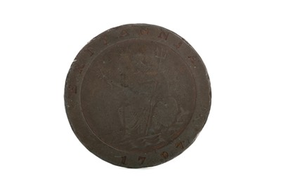 Lot 32 - A GEORGE III CONTERMARKED TWOPENCE