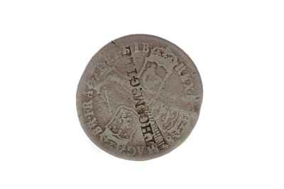 Lot 33 - A JAMES II COUNTERMARKED HALF CROWN