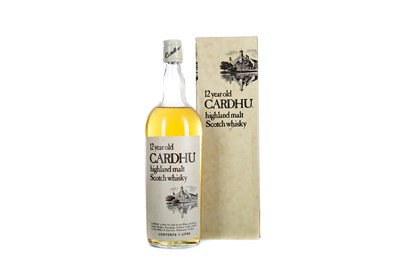 Lot 97 - CARDHU 12 YEARS OLD - ONE LITRE