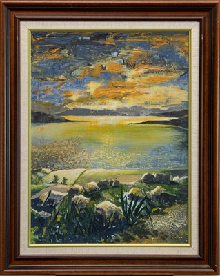Lot 437 - AT THE LOCH, AN OIL