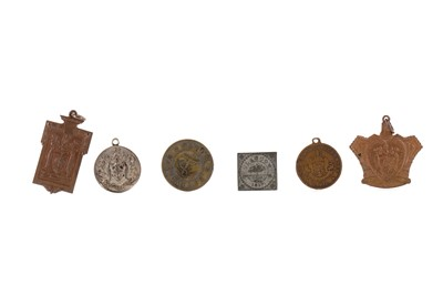 Lot 1309 - A GROUP OF ROBERT BURNS AND OTHER SCOTTISH MEDALS AND MEDALLIONS